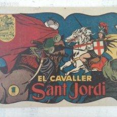 Tebeos: HISTORIA Y LLEGENDA ORIGINAL Nº 6 - EL CAVALLER SAT JORDI - IMPECABLE, SIN ABRIR - HISPANO AMERICANA. Lote 127678419