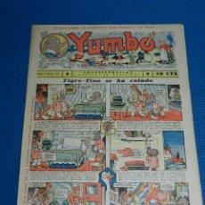 Tebeos: (M2) YUMBO NUM 20 , AÑO II - EDT HISPANO AMERICANA, SEÑALES DE USO. Lote 127763671