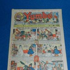 Tebeos: (M2) YUMBO NUM 21 , AÑO II - EDT HISPANO AMERICANA, SEÑALES DE USO. Lote 127763699