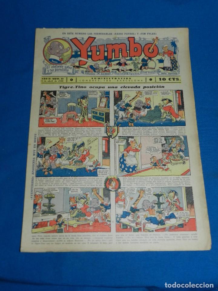 (M2) YUMBO NUM 22 , AÑO II - EDT HISPANO AMERICANA, SEÑALES DE USO (Tebeos y Comics - Hispano Americana - Yumbo)