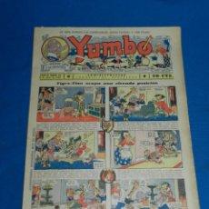 Tebeos: (M2) YUMBO NUM 22 , AÑO II - EDT HISPANO AMERICANA, SEÑALES DE USO. Lote 127763747