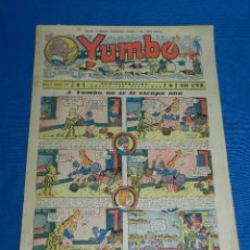 Tebeos: (M2) YUMBO NUM 24 , AÑO II - EDT HISPANO AMERICANA, SEÑALES DE USO. Lote 127763863