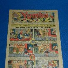 Tebeos: (M2) YUMBO NUM 25 , AÑO II - EDT HISPANO AMERICANA, SEÑALES DE USO. Lote 127764207