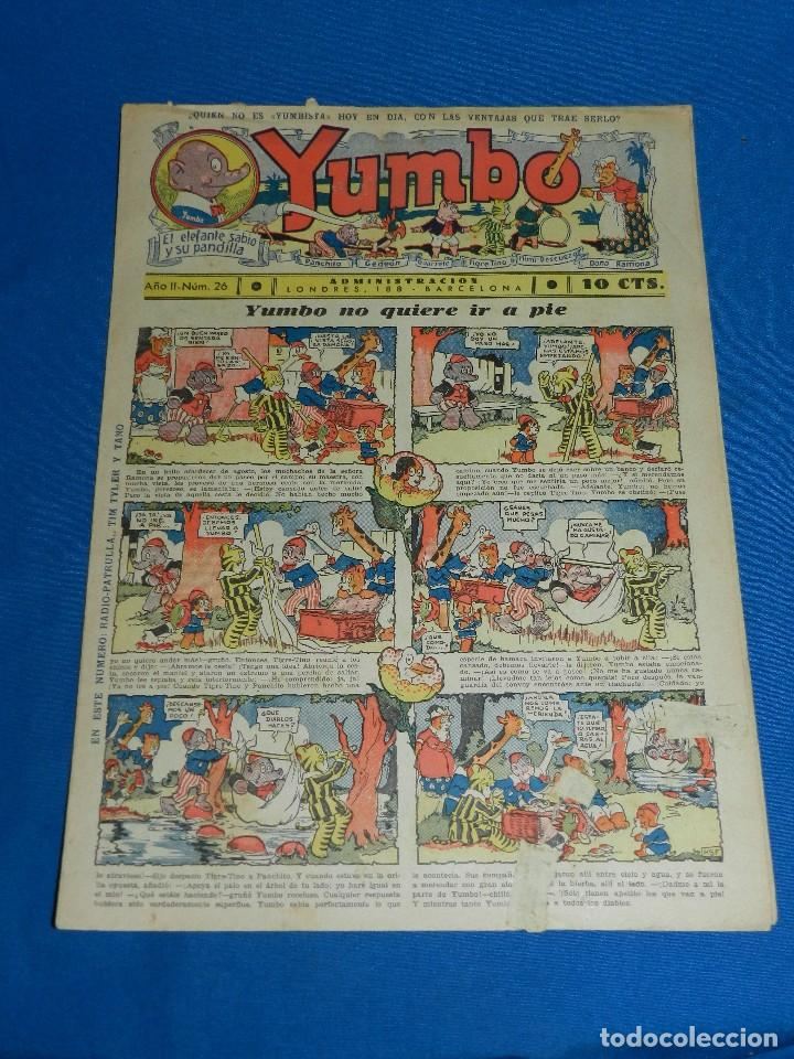 (M2) YUMBO NUM 26 , AÑO II - EDT HISPANO AMERICANA, SEÑALES DE USO (Tebeos y Comics - Hispano Americana - Yumbo)