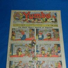 Tebeos: (M2) YUMBO NUM 27 , AÑO II - EDT HISPANO AMERICANA, SEÑALES DE USO. Lote 127764391