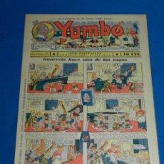 Tebeos: (M2) YUMBO NUM 28 , AÑO II - EDT HISPANO AMERICANA, SEÑALES DE USO. Lote 127764415