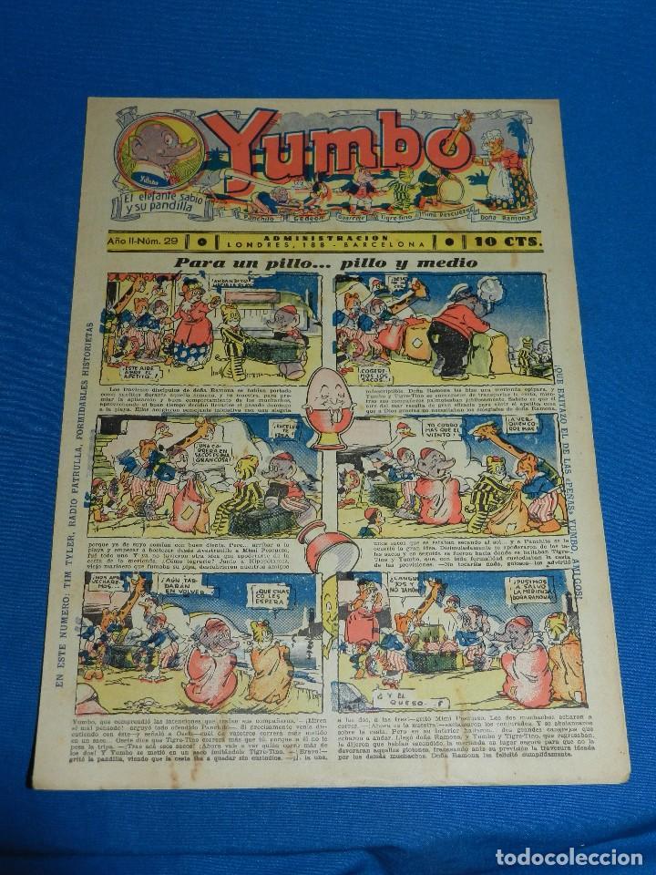 (M2) YUMBO NUM 29 , AÑO II - EDT HISPANO AMERICANA, SEÑALES DE USO (Tebeos y Comics - Hispano Americana - Yumbo)