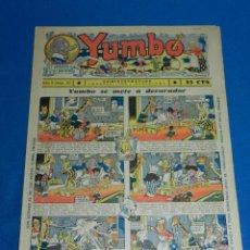 Tebeos: (M2) YUMBO NUM 30 , AÑO II - EDT HISPANO AMERICANA, SEÑALES DE USO. Lote 127764535