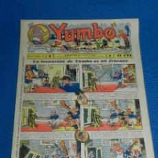 Tebeos: (M2) YUMBO NUM 31 , AÑO II - EDT HISPANO AMERICANA, SEÑALES DE USO. Lote 127764575