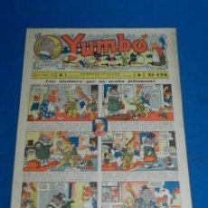 Tebeos: (M2) YUMBO NUM 32 , AÑO II - EDT HISPANO AMERICANA, SEÑALES DE USO. Lote 127764679