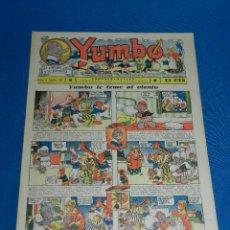 Tebeos: (M2) YUMBO NUM 33 , AÑO II - EDT HISPANO AMERICANA, SEÑALES DE USO. Lote 127764875