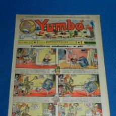 Tebeos: (M2) YUMBO NUM 34 , AÑO II - EDT HISPANO AMERICANA, SEÑALES DE USO. Lote 127764919