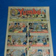Tebeos: (M2) YUMBO NUM 35 , AÑO II - EDT HISPANO AMERICANA, SEÑALES DE USO. Lote 127764971