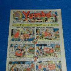 Tebeos: (M2) YUMBO NUM 39 , AÑO II - EDT HISPANO AMERICANA, SEÑALES DE USO. Lote 127765547