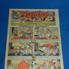 Tebeos: (M2) YUMBO NUM 40 , AÑO II - EDT HISPANO AMERICANA, SEÑALES DE USO. Lote 127765599