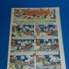 Tebeos: (M2) YUMBO NUM 41 , AÑO II - EDT HISPANO AMERICANA, SEÑALES DE USO. Lote 127765651