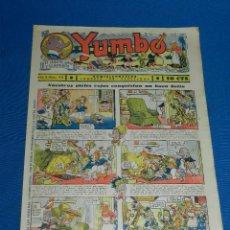 Tebeos: (M2) YUMBO NUM 43 , AÑO II - EDT HISPANO AMERICANA, SEÑALES DE USO. Lote 127765771