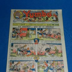 Tebeos: (M2) YUMBO NUM 44 , AÑO II - EDT HISPANO AMERICANA, SEÑALES DE USO. Lote 127765855
