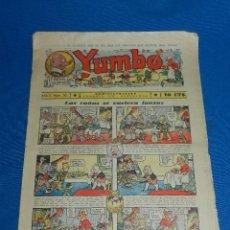 Tebeos: (M2) YUMBO NUM 50 , AÑO II - EDT HISPANO AMERICANA, SEÑALES DE USO. Lote 127765983