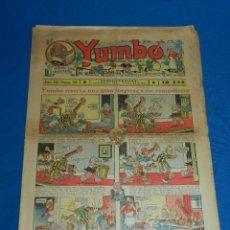 Tebeos: (M2) YUMBO NUM 93 , AÑO III - EDT HISPANO AMERICANA, SEÑALES DE USO. Lote 127766027