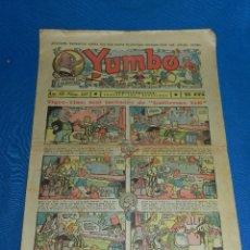Tebeos: (M2) YUMBO NUM 105 , AÑO III - EDT HISPANO AMERICANA, SEÑALES DE USO. Lote 127766067
