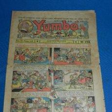Tebeos: (M2) YUMBO NUM 123 , AÑO IV - EDT HISPANO AMERICANA, SEÑALES DE USO. Lote 127766195