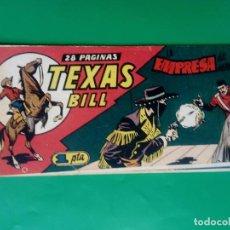 Tebeos: TEXAS BILL Nº 59 - HISP. AMER. DE EDIC. - ORIGINAL ( M-3). Lote 128161827
