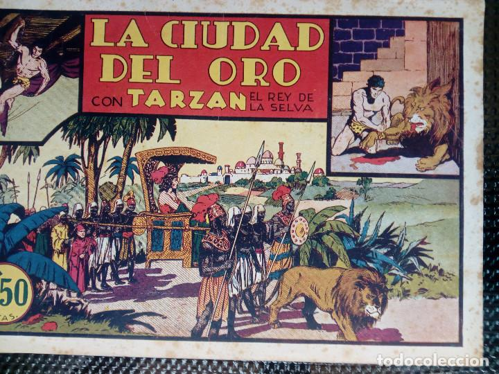 TARZAN EL REY DE LA SELVA - HISP. AMER. DE EDIC - ORIGINAL 1949 ( M 3 ) (Tebeos y Comics - Hispano Americana - Tarzán)