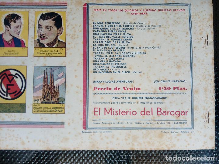 Tebeos: TARZAN EL REY DE LA SELVA - HISP. AMER. DE EDIC - ORIGINAL 1949 ( M 3 ) - Foto 2 - 128203563