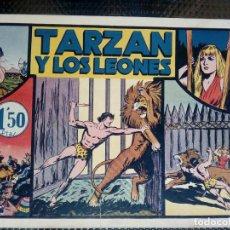 Tebeos: TARZAN Y LOS LEONES - HISP. AMER. DE EDIC - ORIGINAL 1949 ( M 3 ). Lote 128206507