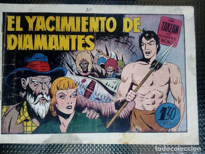 TARZAN EL HOMBRE MONO - HISP. AMER. DE EDIC - ORIGINAL 1949 ( M 3 ) (Tebeos y Comics - Hispano Americana - Tarzán)