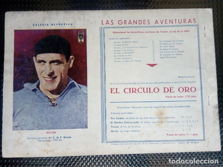 Tebeos: TARZAN EL HOMBRE MONO - HISP. AMER. DE EDIC - ORIGINAL 1949 ( M 3 ) - Foto 2 - 128207875