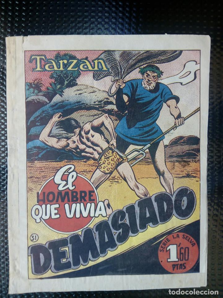 TARZAN - HISP. AMER. DE EDIC - ORIGINAL 1949 ( M 3 ) (Tebeos y Comics - Hispano Americana - Tarzán)