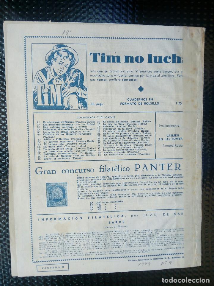 Tebeos: TARZAN - HISP. AMER. DE EDIC - ORIGINAL 1949 ( M 3 ) - Foto 2 - 128209135