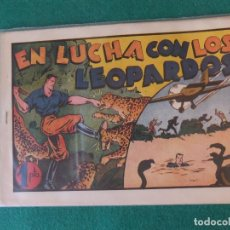 Tebeos: JUAN CENTELLA EN LUCHA CON LOS LEOPARDOS HISPANO AMERICANA. Lote 128326715
