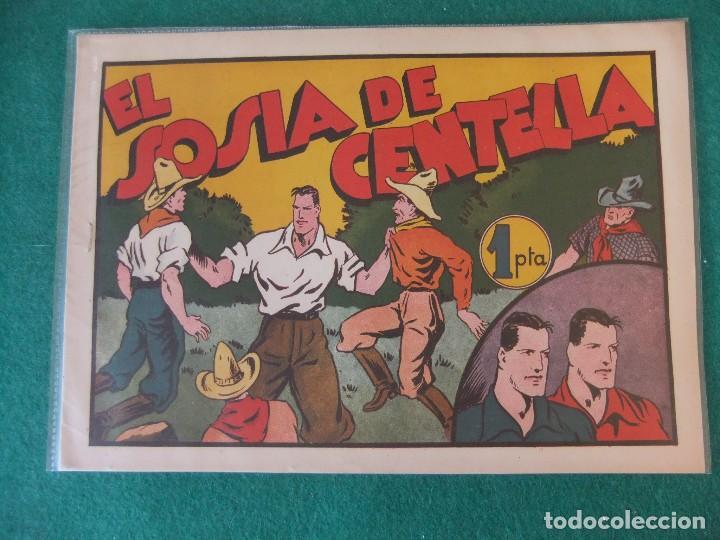 JUAN CENTELLA EL SOSIAS DE CENTELLA HISPANO AMERICANA DE EDICIONES (Tebeos y Comics - Hispano Americana - Otros)
