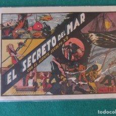 Tebeos: EL SECRETO DEL MAR CON EL AGENTE SECRETO X-9 HISPANO AMERICANA DE EDICIONES. Lote 128421627