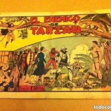 Tebeos: TARZAN - EL ENEMIGO DE .. (PICO REPARADO). Lote 128781447