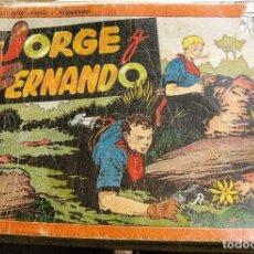 Tebeos: COMIC AVENTURAS DE JORGE Y FERNANDO ALBUM Nº 2 CON 5 TÍTULOS ED HISPANO AMERICANA AÑOS 40 ALBUM . Lote 128959763