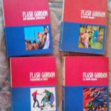 Tebeos: FLASH GORDON DE BURULAN EDICIONES (1971-72) TOMOS 01, 02, 1 Y 2. Lote 129316435