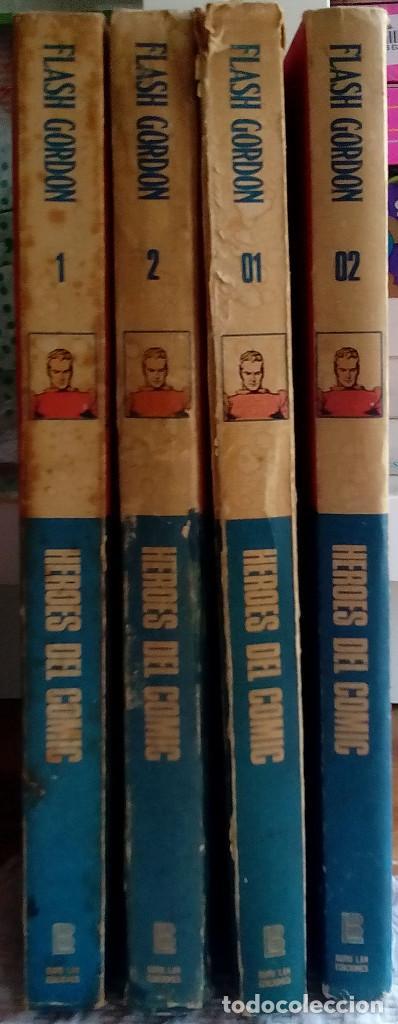 Tebeos: Flash Gordon de Burulan ediciones (1971-72) Tomos 01, 02, 1 y 2 - Foto 2 - 129316435