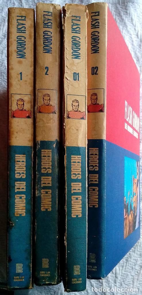 Tebeos: Flash Gordon de Burulan ediciones (1971-72) Tomos 01, 02, 1 y 2 - Foto 3 - 129316435