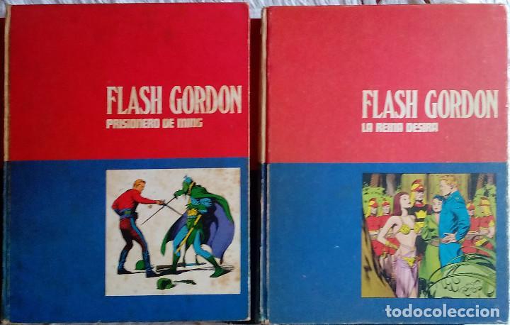 Tebeos: Flash Gordon de Burulan ediciones (1971-72) Tomos 01, 02, 1 y 2 - Foto 4 - 129316435