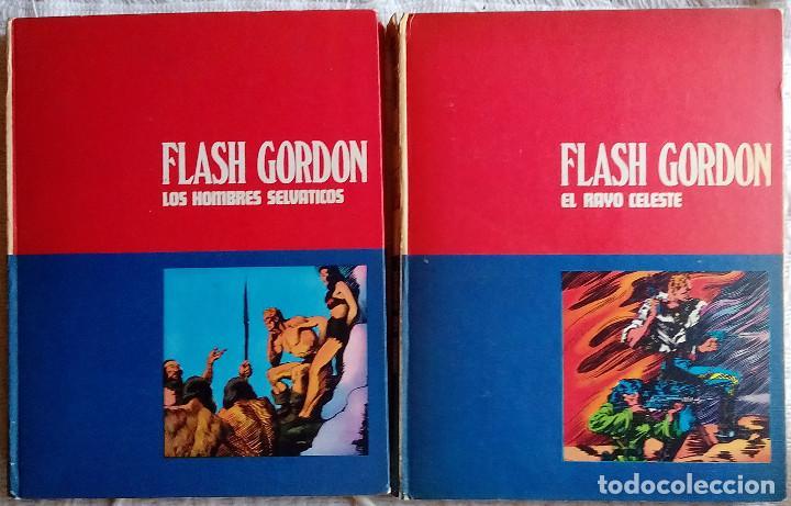 Tebeos: Flash Gordon de Burulan ediciones (1971-72) Tomos 01, 02, 1 y 2 - Foto 5 - 129316435
