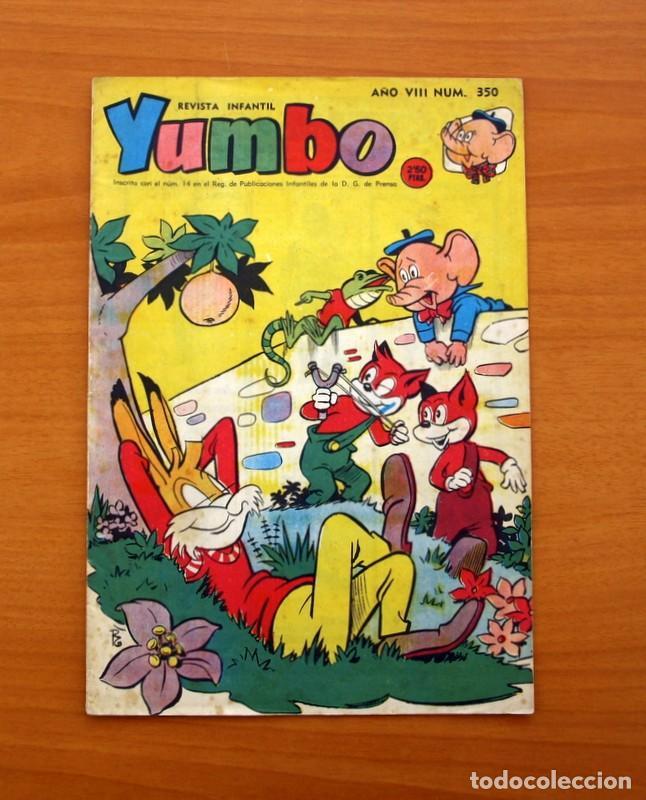 YUMBO, Nº 350 - EDITORIAL HISPANO AMERICANA 1959 (Tebeos y Comics - Hispano Americana - Yumbo)
