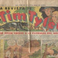 Tebeos: LA REVISTA DE TIM TYLER AÑO I NÚM 27 1936 EDITORIAL HISPANO AMERICANA ORIGINAL. Lote 130061171