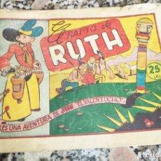 Tebeos: JIM EL VALENTUCHO N.º 1 EL RAPTO DE RUTH HISPANA AMERICANA 25 CTS ORIGINAL 1945 . Lote 130214439