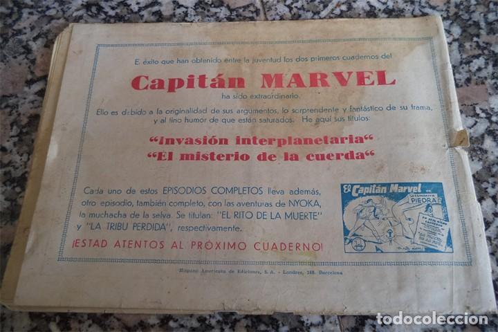 Tebeos: EL CAPITAN MARVEL N.º 3 CONCURSO DE BELLEZA HISPANA AMERICANA ORIGINAL 1947 - Foto 6 - 130364422