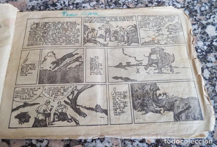 Tebeos: JORGE Y FERNANDO N.º 27 LA PANTERA NEGRA DE CABEZA BLANCA HISPANA AMERICANA ORIGINAL 1940 CON 4 ESTA - Foto 2 - 130364750