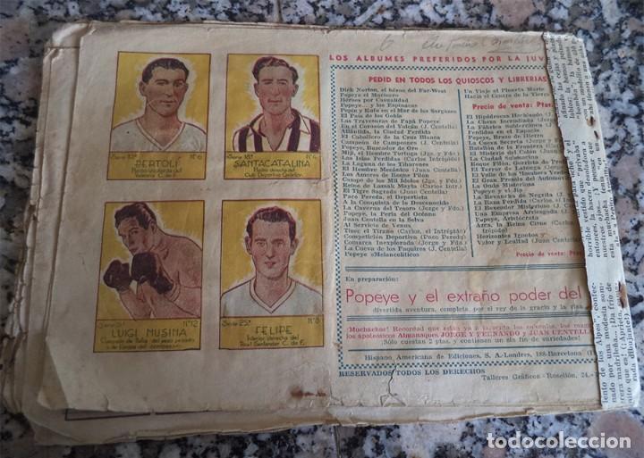 Tebeos: JORGE Y FERNANDO N.º 27 LA PANTERA NEGRA DE CABEZA BLANCA HISPANA AMERICANA ORIGINAL 1940 CON 4 ESTA - Foto 6 - 130364750